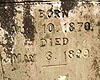 Candage A McClure Birth & Death dates