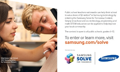 Samsung's Solve for Tomorrow Contest