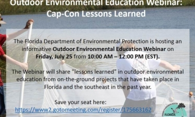 Outdoor Environmental Education Webinar - July 25th, 10 AM