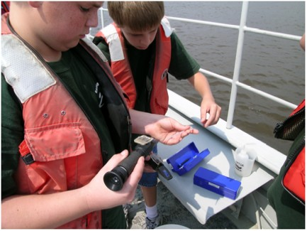 Learning in Florida's Environment (LIFE) Water Quality & Velocity Lab