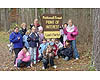 Fouth grade class at Chippewa National Forest