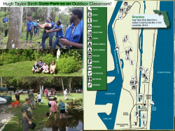 Hugh Taylor Birch State Park and YEA make a great team for Outdoor Education for diverse people of any ability!