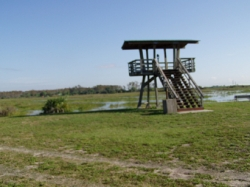 One of the educational venues at the A.R.M. Loxahatchee Wildlife Refuge