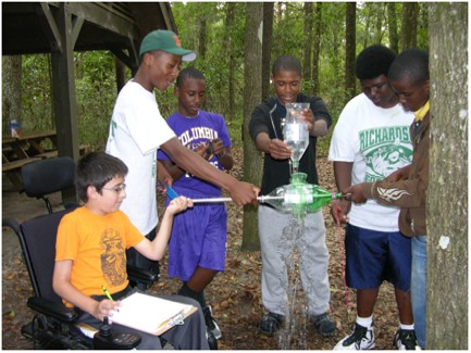Learning in Florida's Environment (LIFE) Waterwheel Lab